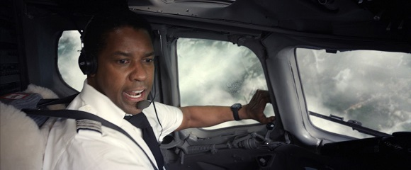 Denzel Washington em O VOO (Flight)