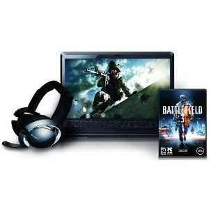 Sony VAIO F23JFX/BC 16.4-Inch Laptop (Gaming Headset and Battlefield 3)