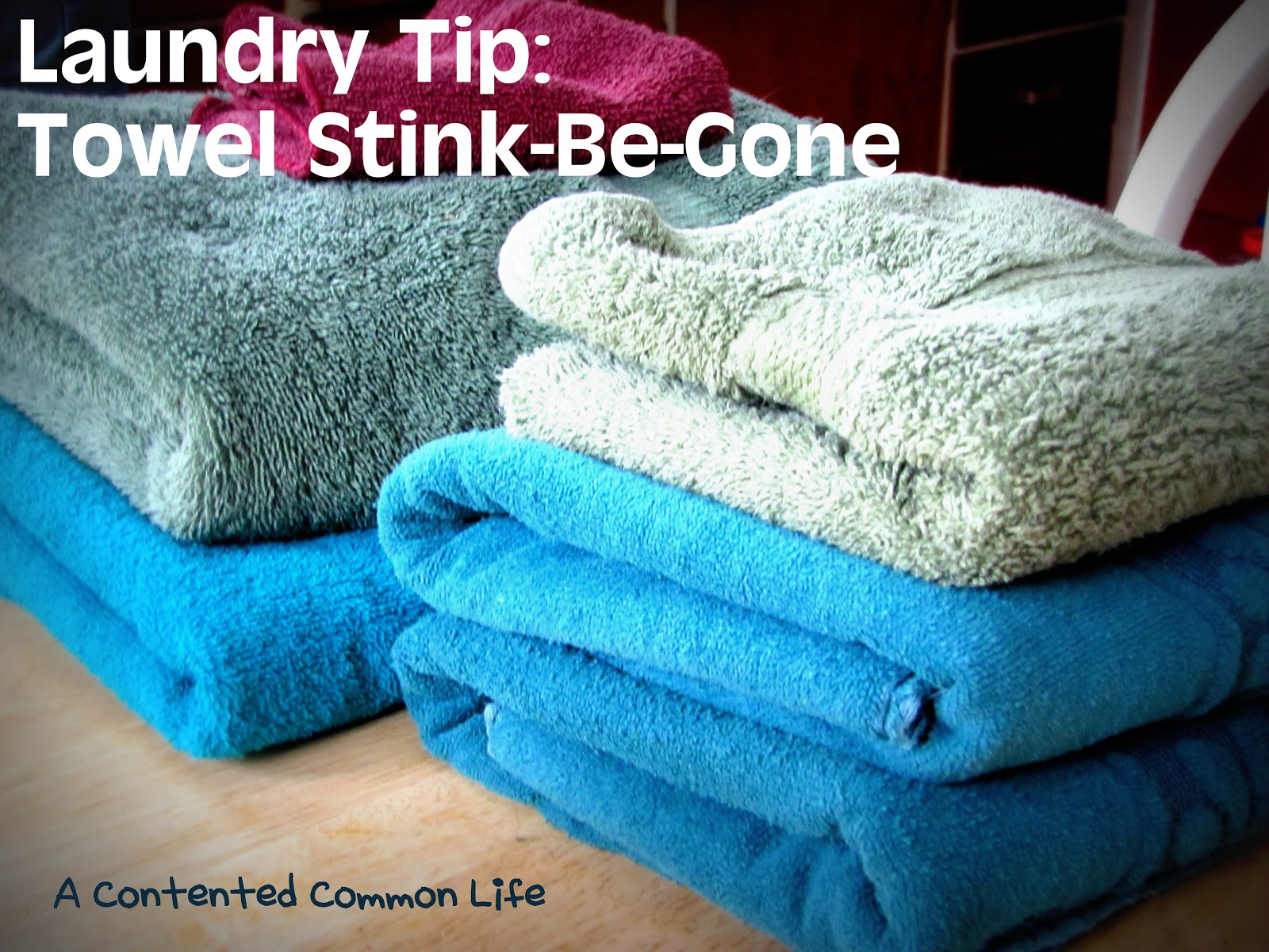 a contented common life sweet laundry loveliness towels. Black Bedroom Furniture Sets. Home Design Ideas