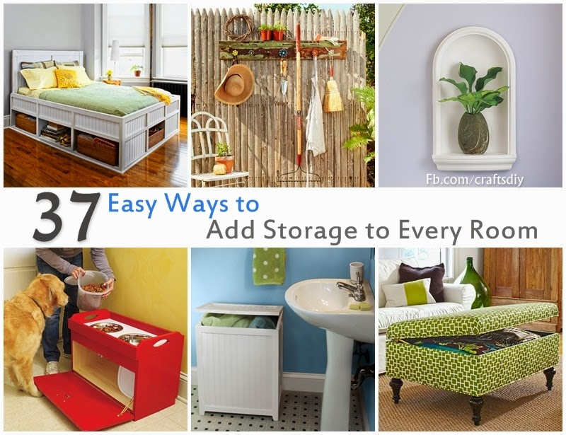 37 Easy Ways to Add Storage to Every Room