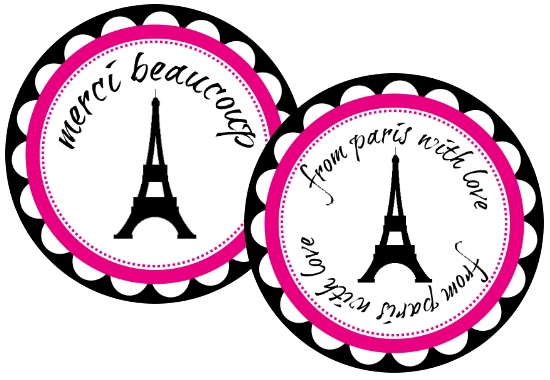 paris themed first communion party