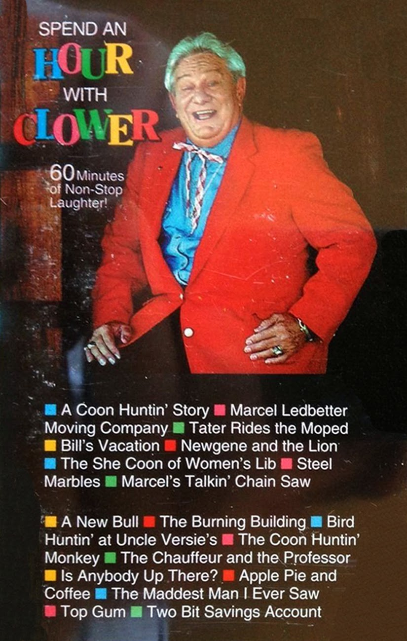 Vintage stand up comedy jerry clower live from the stage of the spend an hour with clower 1993 arubaitofo Image collections