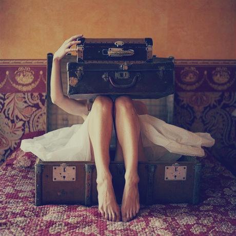 maleta vintage, baul de los recuerdos, recuerdos de un ex