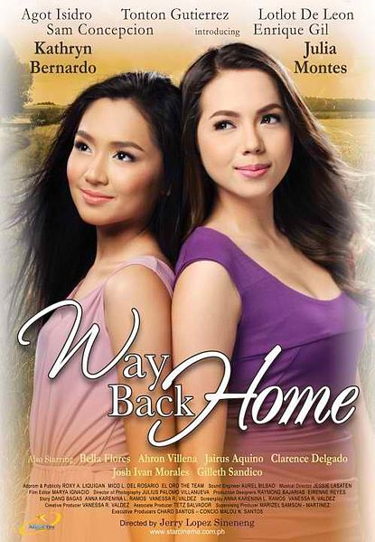 Way Back Home [2011] DvDrip x264 AC3 - RiZAL [Tagalog]
