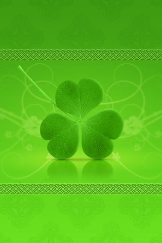 Happy St. Patrick's Day iPhone Wallpaper 2