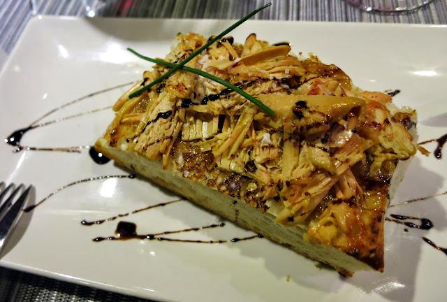 Tosta de foie con mermelada de membrillo, Sazon Arte