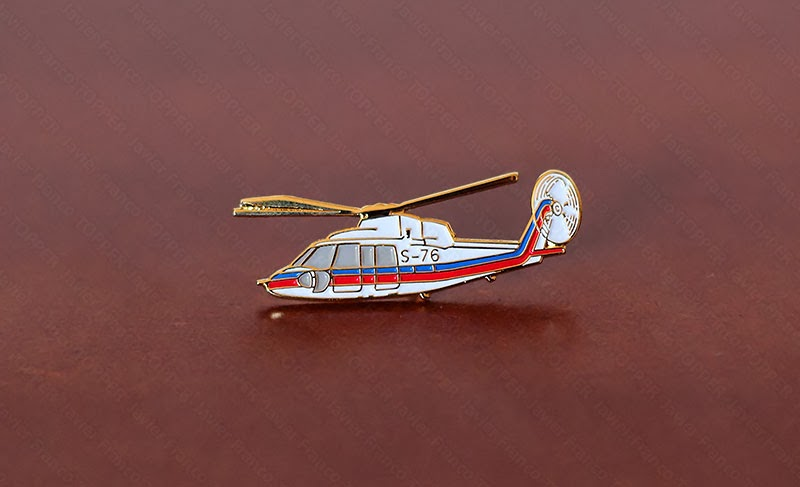 Broches o 'pin' de aviación - Sikorsky S-76