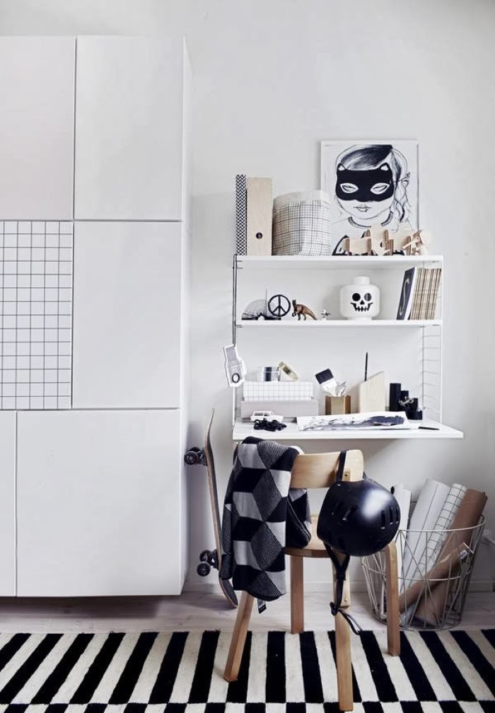 ferm living - working desk- teenager space