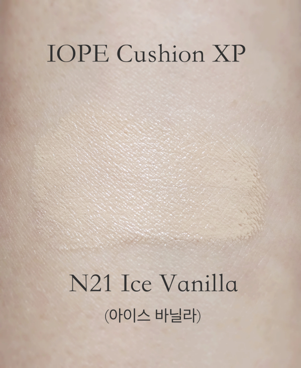 IOPE Air Cushion XP N21 swatch