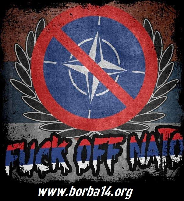 СТОП НАТО ОКУПАЦИЈИ!