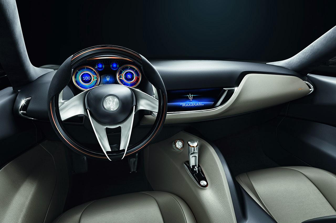 Maserati Alfieri Concept Car dash