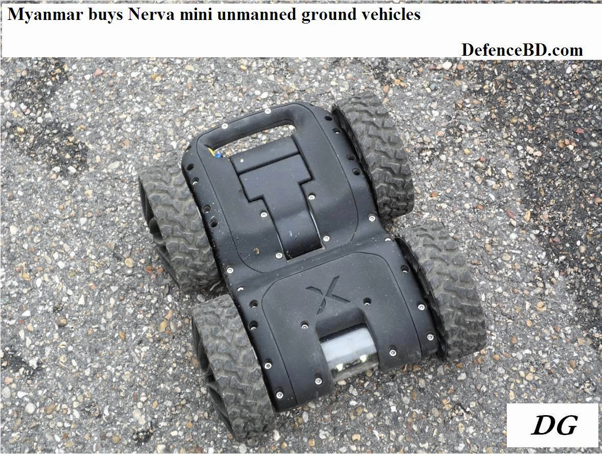Nerva Unmanne Ground Vehicle UGV of Myanmar