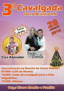 3ª CAVALGADA DE OURO BRANCO/RN