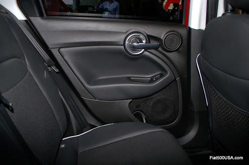 Fiat 500X Rear Seat Door Panel