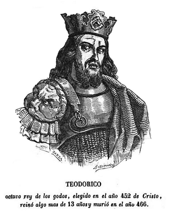 Theodorich  keleti gót uralkodó