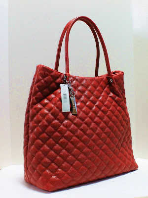 Boutique Malaysia Dkny Quilted Leather Shopper Tote