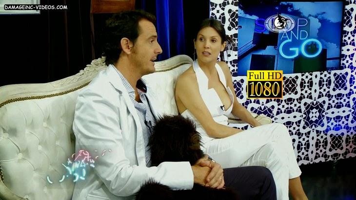 Argentina celebrity busty Ursula Vargues sideboob oops HD video