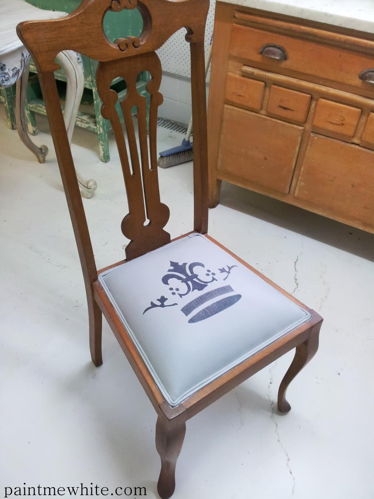 chalk paint onto fabric paint me white. Black Bedroom Furniture Sets. Home Design Ideas