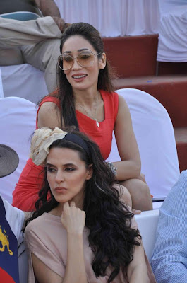 neha dhupia at 3rd asia polo match 2012 latest photos