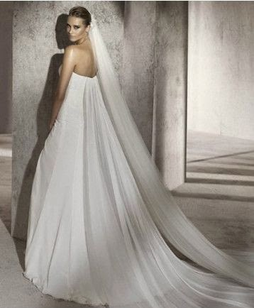 Vestido de Novia Sirena con Detalle en Caderas