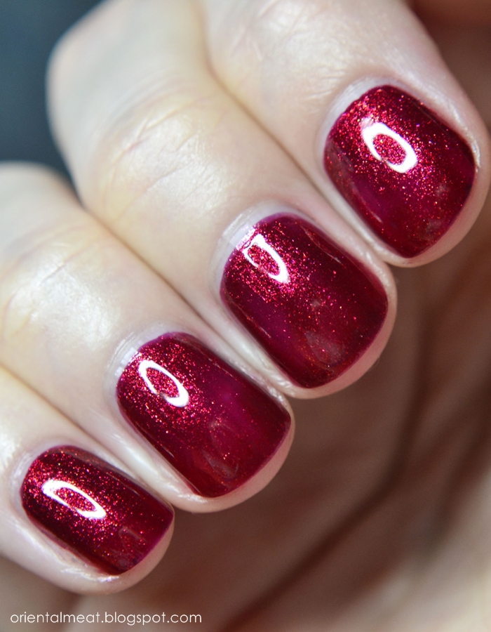 OPI-Red Fingers & Mistletoes & What's Your Point-Settia?