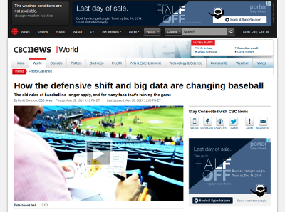 http://www.cbc.ca/news/world/how-the-defensive-shift-and-big-data-are-changing-baseball-1.2739619