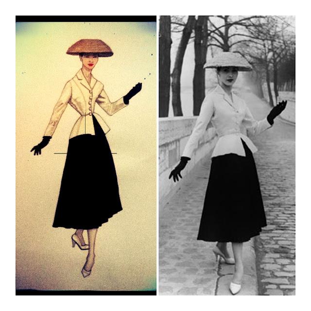 dior 001 Anni 50. Dior Inspiration