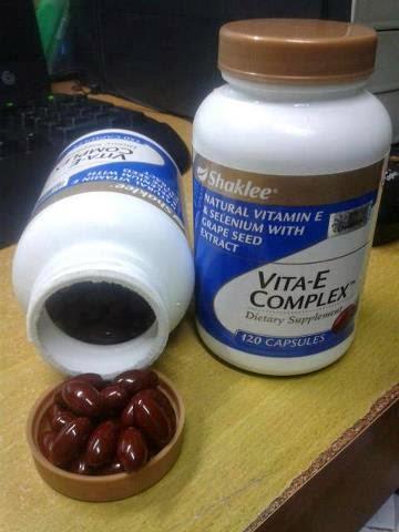vitamin e shaklee merapatkan vagina selepas bersalin