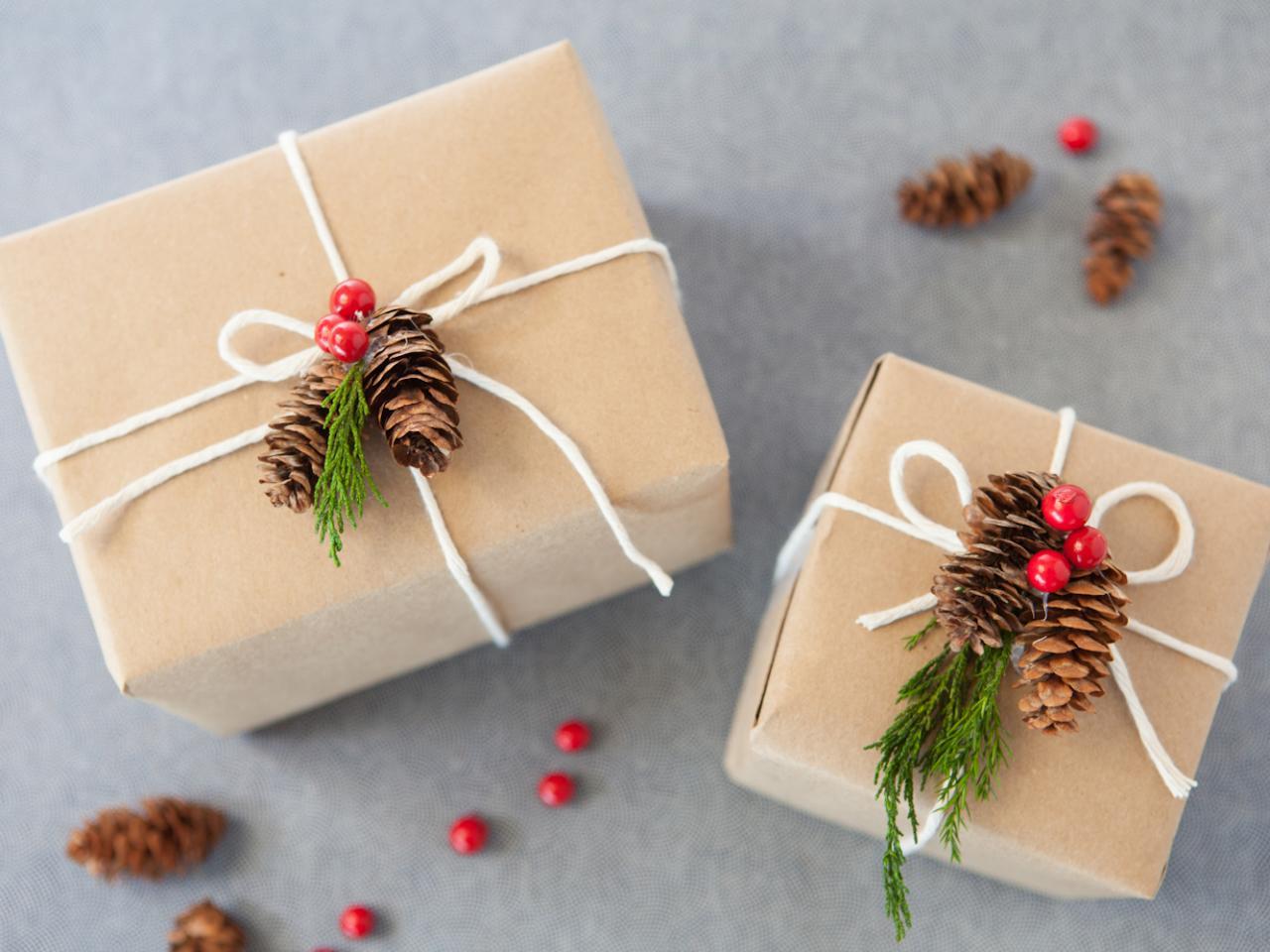 Новогодние подарки своими руками н