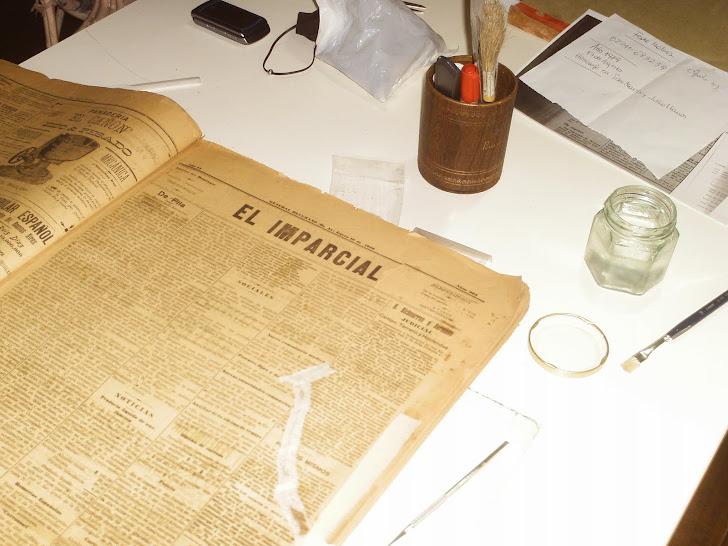 Conservación y restauración de documentos