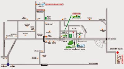 Ecociti :: Location Map