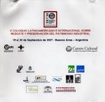El trabajo del extracto - Buenos Aires, 2007