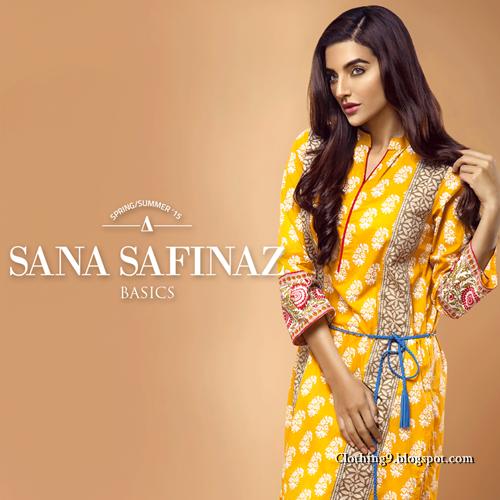 Sana Safinaz Ready To Wear 2015