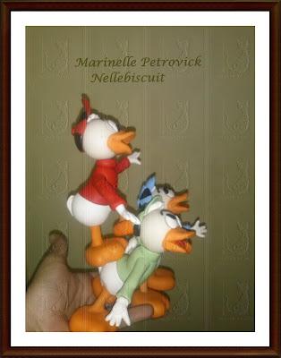 Peça criada por Marinelle Petrovick - Nellebiscuit, totalmente modelada a mão.