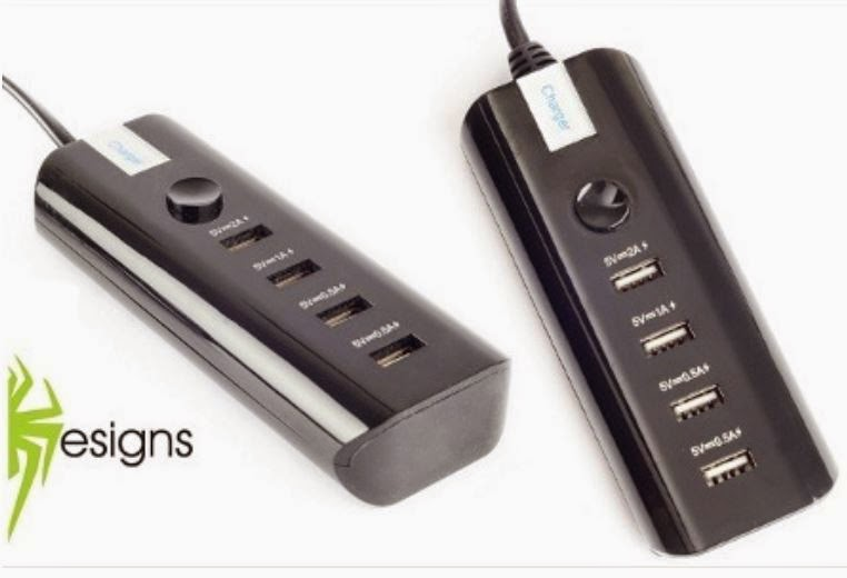 Buy Multifunction 4 USB Charger Rs. 499 only at Groupon.