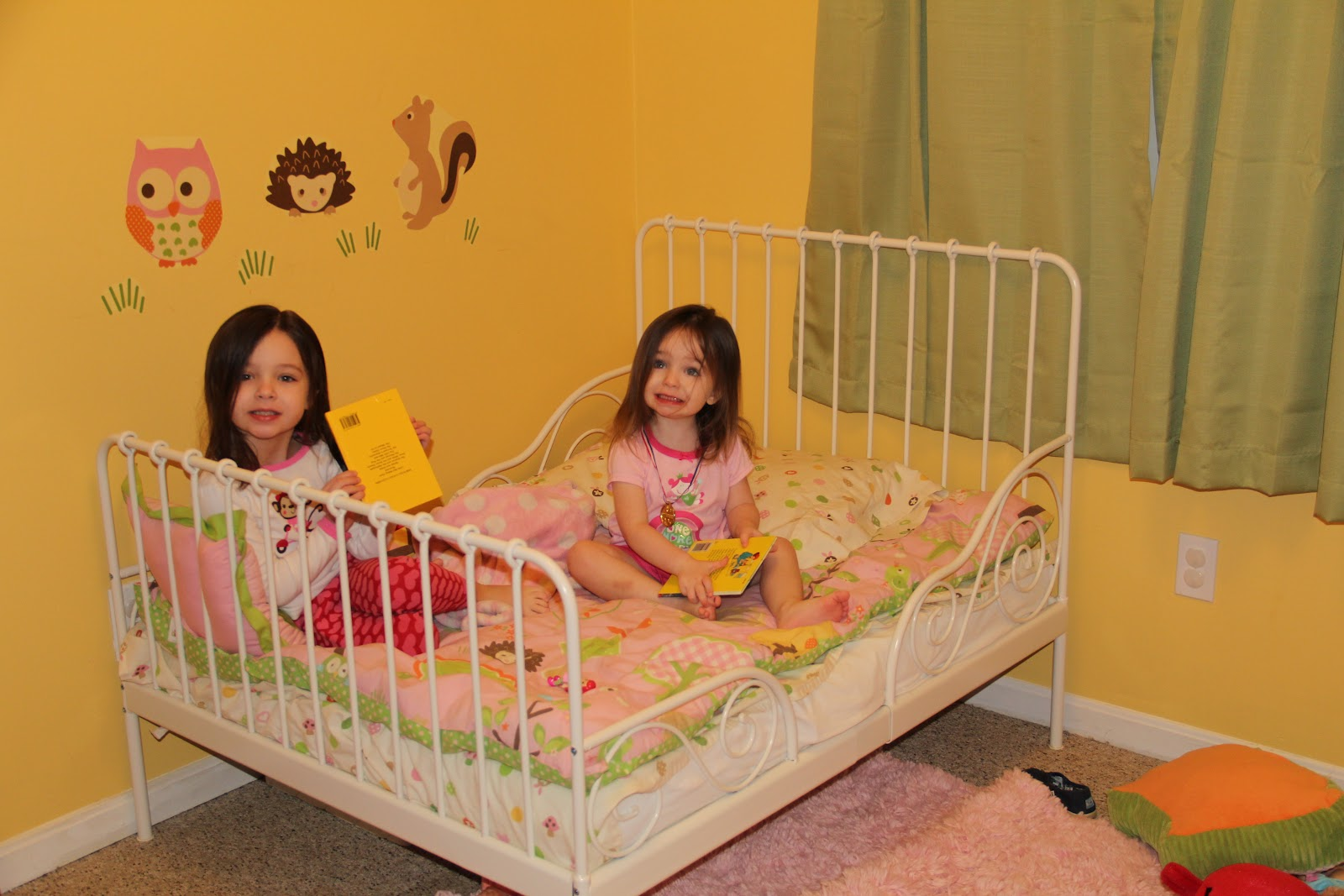 My Girls My Little Girl And Her Big Girl Bed