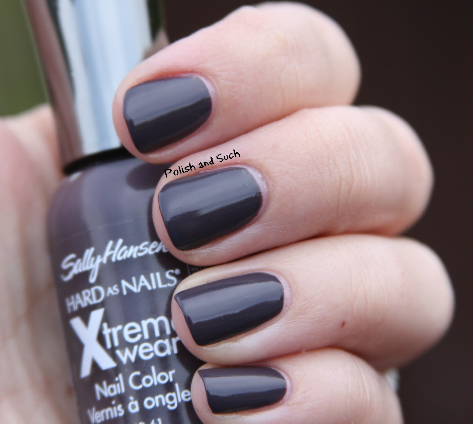 Polish and Such: Frugal Friday: Sally Hansen Grey Area/Possible Dupe