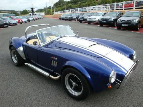 Cobra Kit Car Build Diary