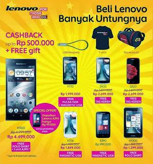 Lenovo Promo Indocomtech 2013