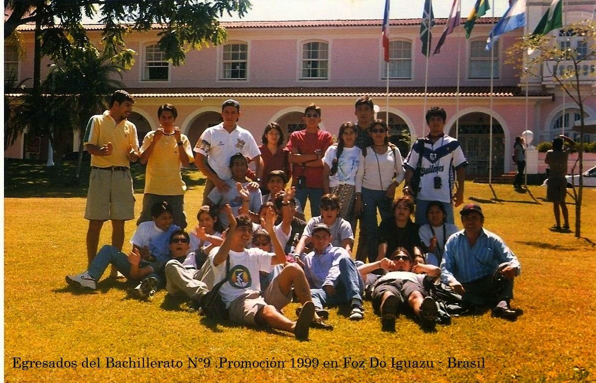 Estudiantes viaje de egresado Brasil