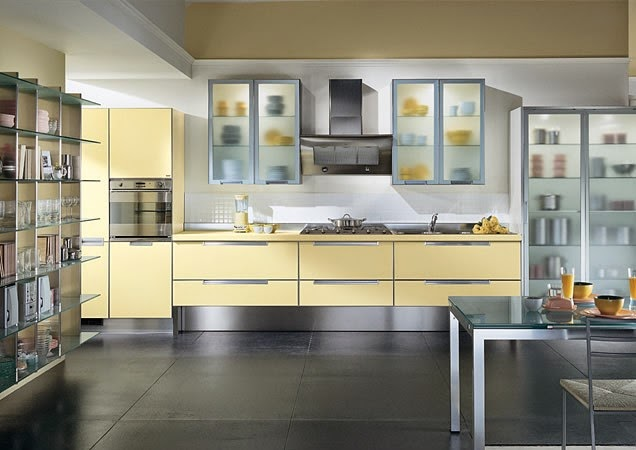 The One Wall Kitchen Layout Is Generally Found In Studio Or Loft Spaces  Because Itu0027s The Ultimate Space Saver. Cabinets And Appliances Are Fixed On  A Single ...