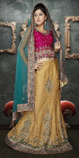 Party-Wear-Bridal-Lehenga-Style