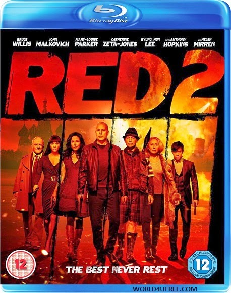Red 2 2013 Dual Audio Hindi 2.0 English 5.1 Dubbed BRRip 720p