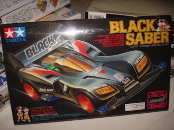 BLACK SABER LtEd 80k