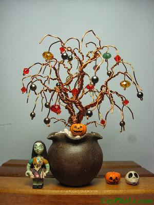 Cây pha lê Halloween 7E