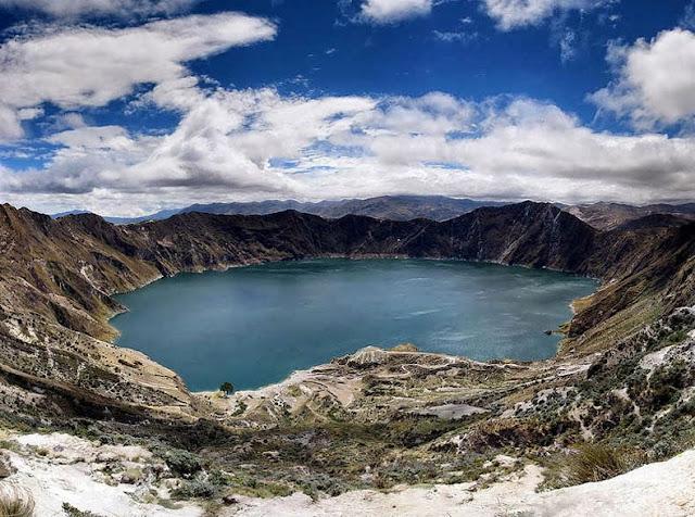 lagos cráteres más bellos del mundo