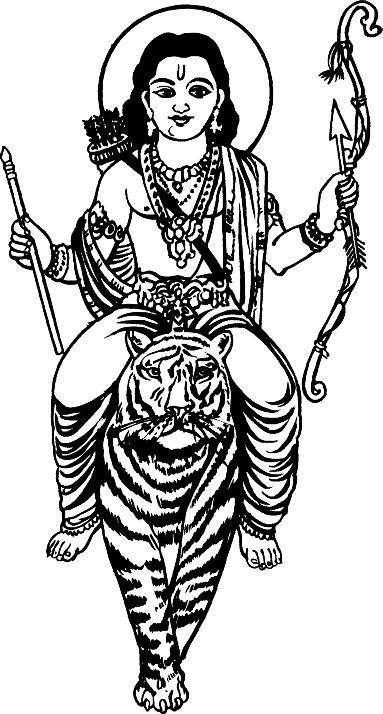 best collection store hindu gods black amp white