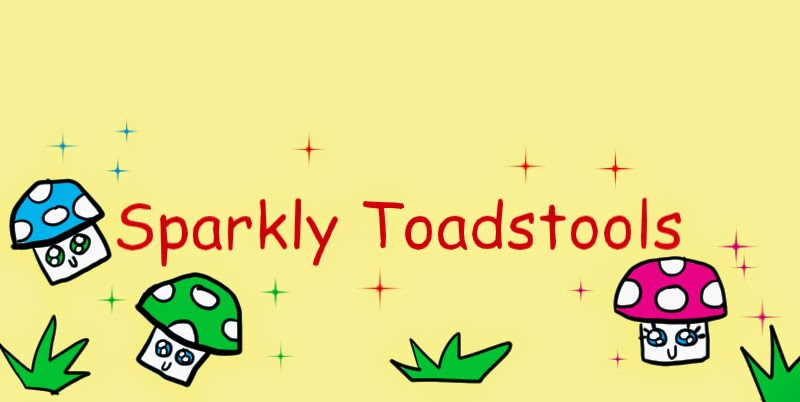 Sparkly Toadstools
