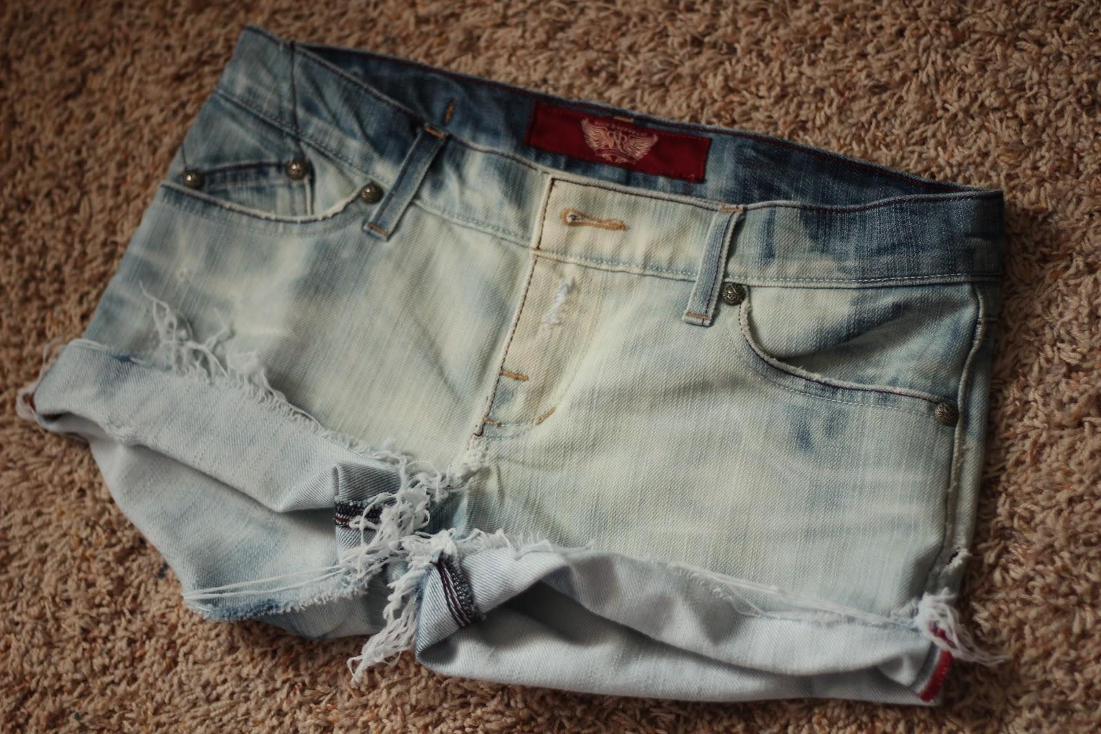 Как отбелить джинсовые шорты в домашних условиях - О чистоте 11
