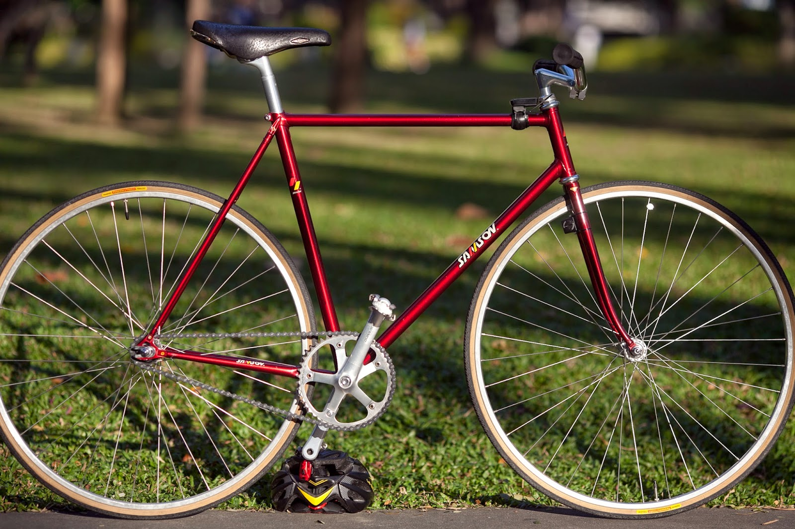 All about Riding Fixedgear: Samson NJS